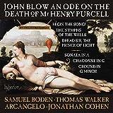 John Blow : Ode sur la mort de Mr Henry Purcell et autres oeuvres. Boden, Walker, Arcangelo, Cohen.