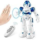 SUNACE Robot de Juguete - RC Robot Programable Juguete Educativo Recargable Robots Juguete de Control Remoto Robot Inteligent