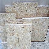 1m² Reste 22mm OSB/3 Grobspanplatte Zuschnitt Holz Platten Feuchtraum-geeignet nach DIN EN 300 Verlegeplatten Holzwerkstoff-Platten Spanplatten