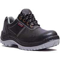 Hillson TC007025081 Panther ISI Marked Safety Shoes (Black, Size 6 UK)