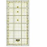 15 x 15 cm jingjing Regla acr/ílica para patchwork de doble color para manualidades