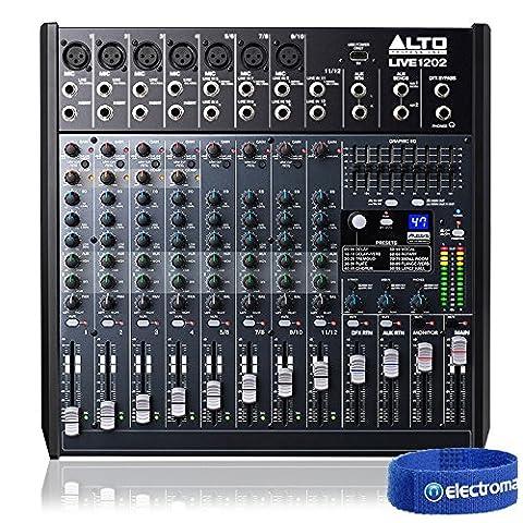 Alto PRO LIVE1202 12-Ch PA Mixer Band Practice Recording Studio