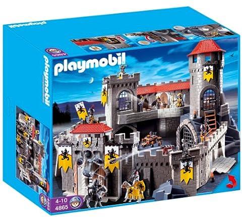 Playmobil - 4865 - Jeu de construction - Château-fort des