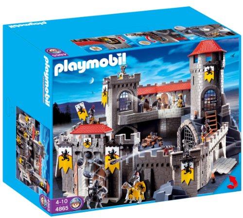 Playmobil - 4865 - Jeu de construction - Château-fort des chevaliers du Lion