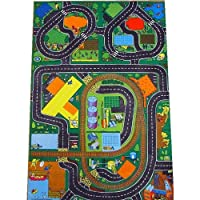 Major Roadway & Airport Playmat - A Fun Addition For The Bedroom, Playroom, Nursery Or Class Room!