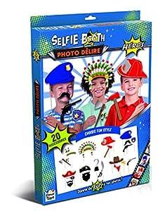 Canal Toys - CT05708 - Selfie Booth - Selfie Booth - Photo Délire - Kit- Accessoires Heros