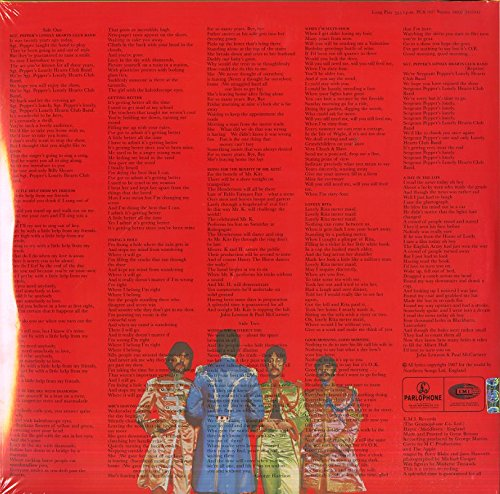 Sgt. Pepper'S Lonely Hearts Club Band [Vinilo]
