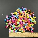 rcdxing ca. 100Stück Kunststoff Mini Haarklammer Clip Haarspange (zufällige Farbe)