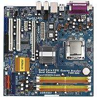 Asrock 2CORE1333DVI-2.66G Mainboard Sockel Intel 775 CPU 4x DDR2 Speicher ATX mit CPU Bundle