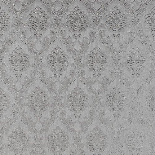 Preisvergleich Produktbild Wildapfel Pompadour Tapete Farbe: Zink
