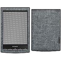 atFoliX Sony PRS-T1 Reader Skin FX-Denim-Grey Sticker Pegatina - Tejido de vaquero con aspecto de tela