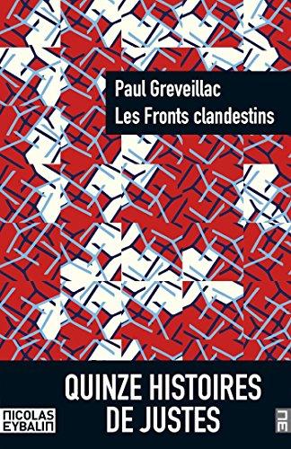 Fronts clandestins (Les) par Paul GREVEILLAC