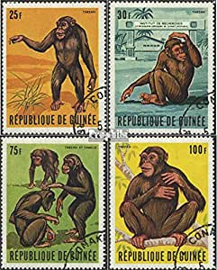 Guinea 532-535 (complete.issue.) 1969 the affe tarzan (Stamps for collectors)