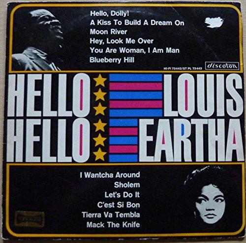 Image of Hello, Louis/Hello, Eartha (& Eartha Kitt) / Vinyl record [Vinyl-LP]