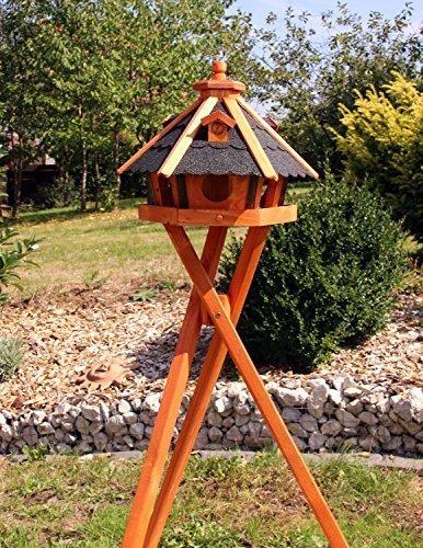 Vogelhaus, Vogelhäuser mit und ohne Ständer
