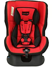 Luvlap Sports Convertible Baby Car Seat Suitable for 0-4 Year Baby (0-18kgs) - Red & Black