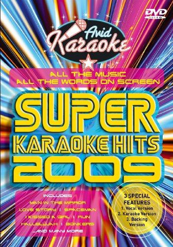 Super Karaoke Hits 2009 [DVD], DVD