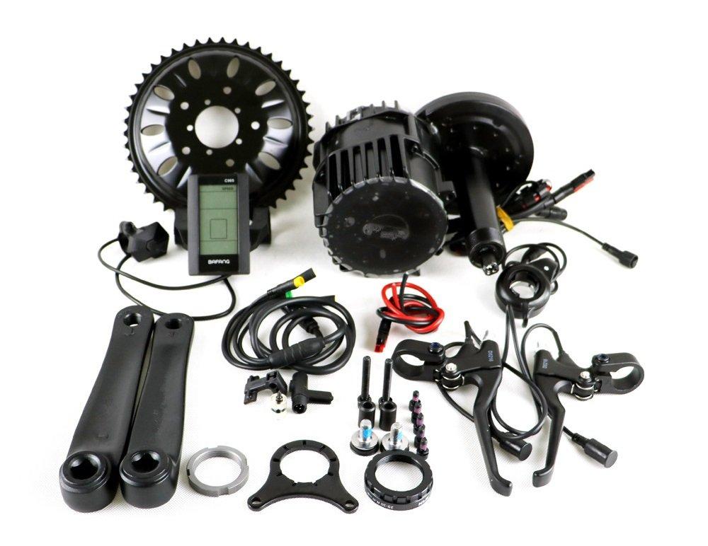 61tyDHS3W1L - 8FUN BBSHD BBS03 48V 1000W Bafang Mid Drive Ebike Kit BB width:68mm Electric Bicycle