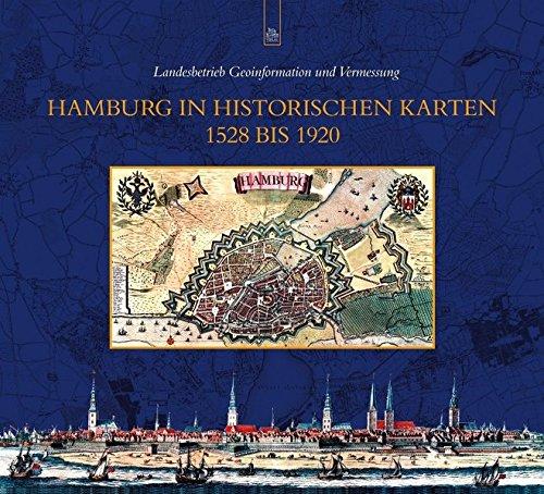 1920 Karte (Hamburg in historischen Karten 1528 bis 1920)