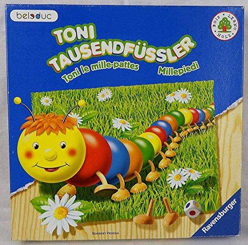 Ravensburger - Toni Tausendfssler, Holzspiel (Kinderspiel)