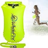 WholeFire 20L Schwimmboje Aufblasbare wasserdichte Erwachsene Kinder Schwimmboje Triathlon mit Trockentasche für Wassersport,