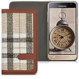 kwmobile Flip Hülle Case für > Samsung Galaxy J3 (2016)