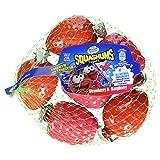 Nestle Munch Bunch Squashums Raspberry/Strawberry Fruit Shape, 6x60g