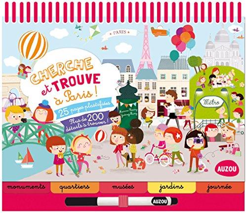 CHERCHE ET TROUVE A PARIS (COLL. BLOC-NOTES) par Marine Fleury, Yating Hung