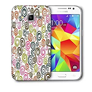 Snoogg Cream Pattern Design Printed Protective Phone Back Case Cover For Samsung Galaxy CORE PRIME