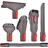 Staubsauger Zubehör Set Bürste Tool Düse Set mit Verlängerungs-Schlauch Ersatzteile für Dyson V7 V8 V10 V11 SV10 SV11…