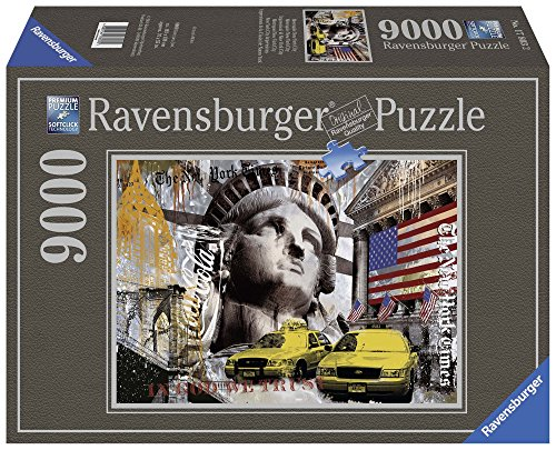 Ravensburger Puzzle 17803 - Metropole New York City 9000 Teile -