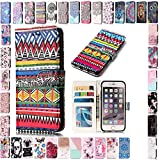 KM-Panda Housse Coque Apple iPhone X Tribal Cuir PU Wallet Cover TPU Silicone Étui...