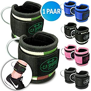 C.P.Sports Premium Hand- und Fußschlaufe, Fußschlaufen Fitness, Fußschlaufe Sub, Fußschlaufen Kabelzug