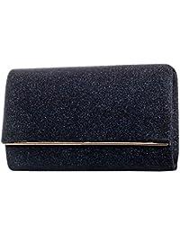 Gadzo® Abendtasche clutch glitzer Umhängetasche CLUG