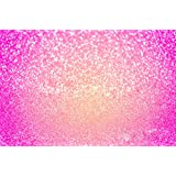 Hot Pink Glitter Sequin Abstract Background For Photo Studio Girls Birthday Party Baby Shower Booth Backdrop Bokeh Bridal Party Bling Photography Vinyl Wallpaper Prop 86 Ft