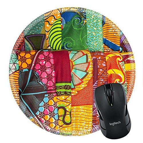 MSD Naturkautschuk Mousepad Bild-ID 27490384traditionellen afrikanischen Stoffen in einer Shop in Ghana West Afrika 506 - Stoff Sprint