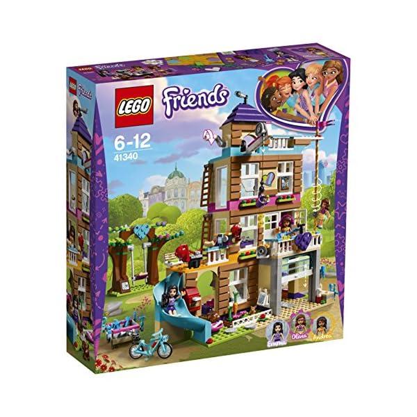 LEGO-Friends La Casa dell'Amicizia, Multicolore, 41340 4 spesavip