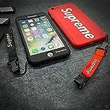 Supreme für iPhone 6 (4,7 Zoll) Rundumschutz Handy Cover mit Band Schutzhülle Handyhülle Sup Jordan Michael Jordan Chicago Bu