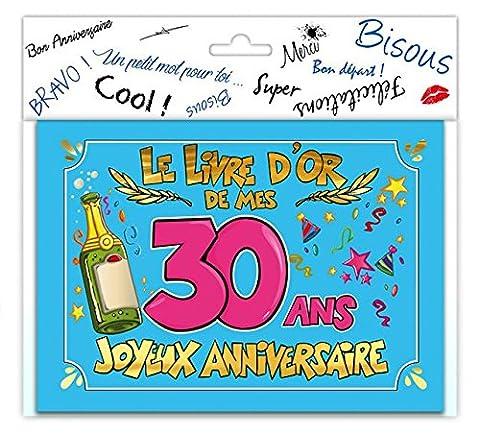 LIVRE D'OR JOYEUX ANNIVERSAIRE - TOCADIS-30 ANS