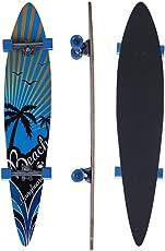 Longboard, Komplettes Skateboard, 117cm