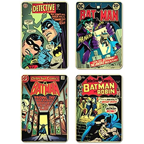 Coasters Set Of 4 Sleeve Batman Comic Co