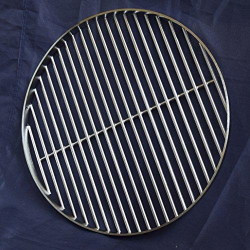 Grillrost für Schwenkgrill Edelstahl rund 50cm, 8mm Stäbe 50238Q mit Querstab