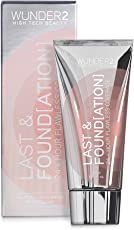 WUNDER2 Last & Found[ation] 24+ Hour Flawless Coverage Foundation - lang anhaltendes & wasserfestes Make-up, Farbe: Sand