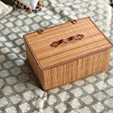 YHJ Accetta il cestino Cestelli di bambù scatole sono fatti a mano ( Colore : A )