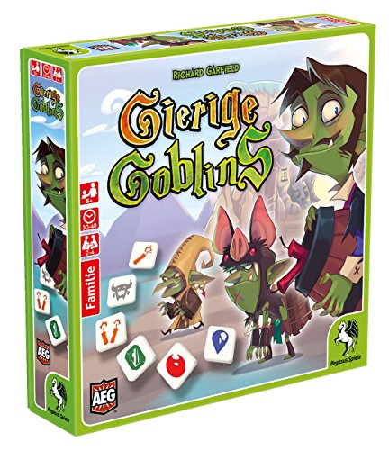 Pegasus Spiele 51101G - Gierige Goblins (Goblins Spiel)