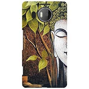 URBAN KOLOURS Original Designer Printed Hard Case Back Cover for Microsoft Lumia 950XL (Peace)