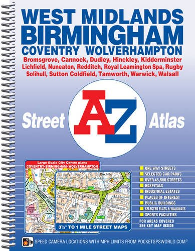 West Midlands Street Atlas (A-Z Street Atlas)