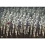 Star Wars - Stormtrooper - Schreibtischunterlage ca. 35x50 cm, abwischbar - Lizenz-Unterlage, Tischunterlage, Schreibunterlage