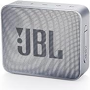 مكبر صوت جو 2 من جي بي ال بتصميم محمول يدعم البلوتوث، رمادي فاتح