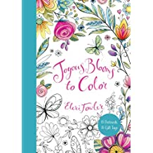Joyous Blooms to Color: 15 Postcards, 15 Gift Tags (Colouring Books)